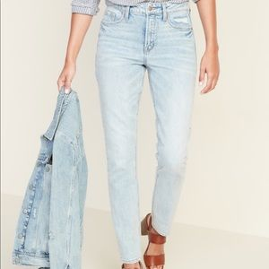 Old Navy High Rise Power Straight Jeans